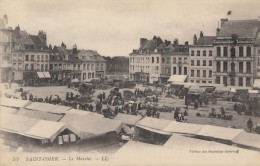 CPA - St Omer - Le Marché - Saint Omer