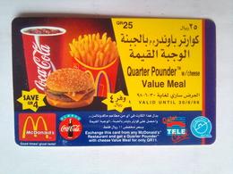 McDonalds 25 QR - Qatar