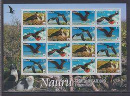 U68. MNH Nauru Nature Animals Wild Animals Birds WWF - Birds