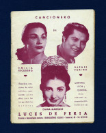 Cancionero Luces De Feria (años 50) - Programas
