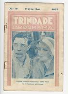 Program * Portugal * Trindade * 1932 * O Fabricante De Estrelas - Programmi