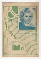 Program * Portugal * Trindade * 1934 * Os Meus Lábios Enganam - Programmi