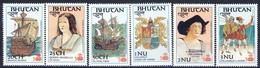 +B1432. Bhutan 1987. Discovery Of America. Michel 1015-20. MNH(**) - Bhutan