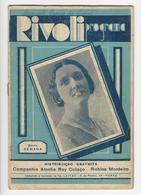 Program * Portugal * Rivoli * 1932 * A Conspiradora - Programs