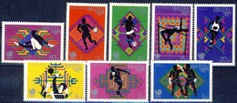 +B1437. Bhutan 1989. Olympic Games Seoul. Michel 1078-85. MNH(**) - Bhutan