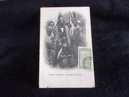 Comores .Sultanat D ' Anjouan . Mariage D ' Un Prince . Voir 2 Scans . - Comoros