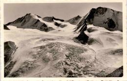 Marzellgletscher Mit Hintere Schwärze U. Marzellspitze, Ötztal - Tirol (35/23) * 14. 6. 1956 - Sölden