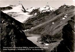 Schwarzsee U. Schwarzkogl, Innerer Schwarzer Schneid, Linker Fernerkogl U. Wildspitze (6363) * 11. 8. 1961 - Sölden
