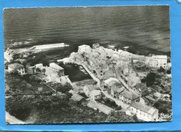 CORSE-CENTURI -le Village Et Le Port Vue Aérienne  -éditioncombier A Voyagé En 1958 - France