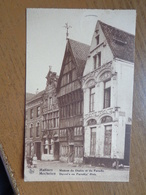 Mechelen (Malines) Duivel's En Paradijs Huis --> Beschreven 1938 - Malines