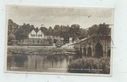 Sonning (Royaume-UNi, Berkshire) : Bridge And White Hart  En 1920 (lively, Pub) PF. - Altri