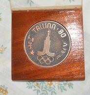 Brons Medal Tallinn 1980 _ 470 CLASS SAILING - Bekleidung, Souvenirs Und Sonstige