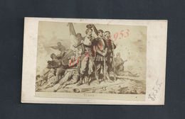 MILITARIA PHOTO TYPE CDV MILITAIRE 8X5,5 GUERRE 1870 SEDAN NON ECRITE : - Army & War