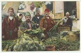 SHQIPËRIA: Tregu Valona - Shitësit E Perimeve / ALBANIA: Mercato Di Valona - Venditori Di Ortaggi - Albania