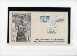 Monaco  500° Anniversaire De La Découverte De L'Amérique Par Christophe Colomb - Christopher Columbus