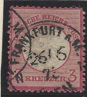 Alemania Imperio U 022 (o) Aguila. Escudo Grande. 1872 - Usados