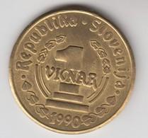 SLOVENIJA  1  VINAR  1990 - Slowenien