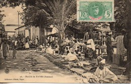 SOUDAN   KAYES  Le Marché - Sudan