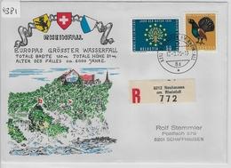 1970 Recommande Neuhausen Am Rheinfall 17.9.70 - Switzerland