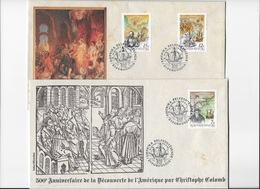 Hongrie 500° Anniversaire De La Découverte De L'Amérique Par Christophe Colomb - Christopher Columbus