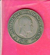 Piece De 20 Centimes Belge Leopold L Roi Des Belges 1861 - 05. 20 Centimes
