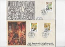 Hongrie 500° Anniversaire De La Découverte De L'Amérique Par Christophe Colomb N.D - Christopher Columbus