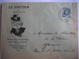 SAINT-GILLES 1926 - Enveloppe Publicitaire - LE SOUTIEN De SAINT-GILLES - Cercle Philanthropique Protection De L'Enfance - Belgique