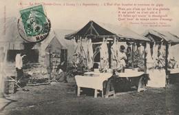 + CPA 50 Lessay - La Foire Sainte Croix -l'Etal D'un Boucher Et Tournous De Gigot + - France