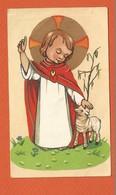 Image Pieuse Holy Card Santini - Souvenir De Première Communion - François TAVERNIER - AIX EN PROVENCE - 1958 - Devotieprenten