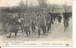 ARMEE BELGE - 1914 - PRISONNIERS ALLEMANDS - Guerre 1914-18