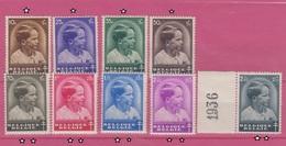 Belgique - 1936 - * & **  - COB 438 à 446 - Antituberculeux - Le Prince Baudoin - Valeur 36 - Belgium