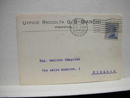 PADOVA --  UFFICIO RACCOLTA  G.B. BIANCHI - Padova (Padua)