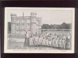 44 Groupe Des Enfants De L'orphelinat Devant Le Chateau Des Tourelles à Pornichet - Pornichet