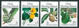 1988  Isole Cocos Fiori Flowers Fleurs MNH** Ye1 - Isole Cocos (Keeling)