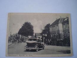 Steenbergen  (N-Br.) // Kaaistraat Met Villa (Automobile) Gelopen 1933 - Tilburg