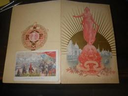 MENU DU BANQUET DES MAIRES EN 1900 - Menus