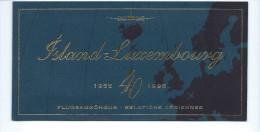 Carnet N° 10   Bleu Islande-Luxembourg   (état Comme à La Poste) - Booklets