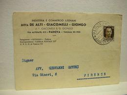 PADOVA  ---  DITTA  DE ALTI -GIACOMELLI - GIONGO-- LEGNAMI - Padova (Padua)