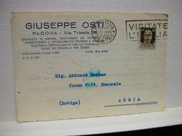 PADOVA  ---   GIUSEPPE DE COSTI  -- GROSSISTA - Padova (Padua)