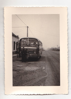 PHOTO FORMAT 12 X 9  TRANSPORT  BUS  MARQUE  MERCEDES - Automobiles
