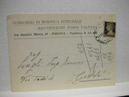 PADOVA  --   CONSORZIO DI BONIFICA INTEGRALE   - BACCHIGLIONE FOSSA PALTANA - Padova (Padua)