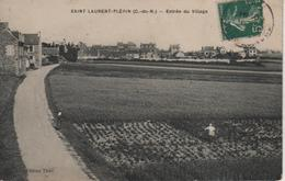 SAINT-LAURENT-PLERIN, Entrée Du Village - édition Thiel - Plérin / Saint-Laurent-de-la-Mer