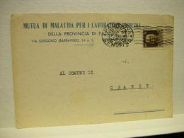 PADOVA  --    MUTUA  DI MALATTIA  PER I LAVORI AGRICOLI - Padova (Padua)
