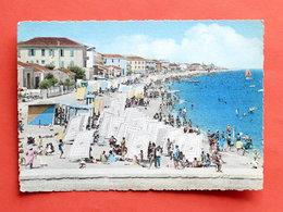Cartolina Bellaria - Spiaggia - Ora Del Bagno - 1955 Ca. - Rimini