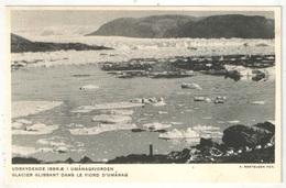 Groenland - Glacier Glissant Dans Le Fjord D'Umanaq - Greenland