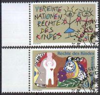 UNO WIEN 1991 Mi-Nr. 117/18 O Used - Aus Abo - Usati