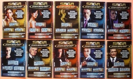 SERIE DE 10 SAGA JAMES BOND - FDJ FRANCAISE DES JEUX - SERIE 32201 - EMISSION N° 1 - Biglietti Della Lotteria
