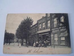 Oss (N-Br.) Heuvel Met Boek En Papierhandel // Ca 1899 // Sleets - Zeldzaam - Top - Oss