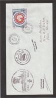 E25 - TAAF PA 109 Du 11.2.1990 Terre Adélie - Cachets De L' ASTROLABE Et Signature Du Commandant. - Terres Australes Et Antarctiques Françaises (TAAF)