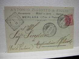 MERLARA  --  PADOVA  --   ANTONIO ZIGIOTTO & FIGLIO --  MESTICHERIA - Padova (Padua)